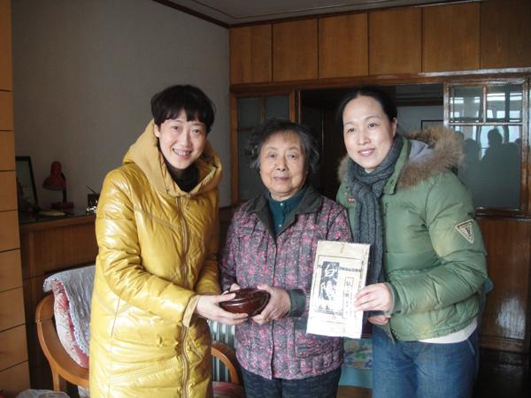 吴嘉平向弘一大师61丰子恺研究中心捐赠 白阳 等
